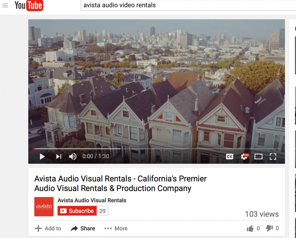 Avista Videos and Video Channels