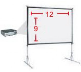 Rent Large Projector Screens San Francisco Bay Area