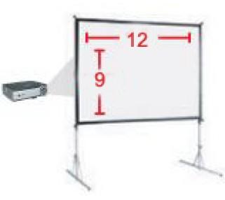 rent large projector screens san francisco bay area