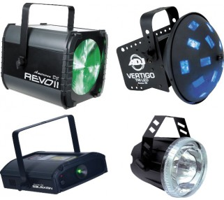 DJ Light Rental Package