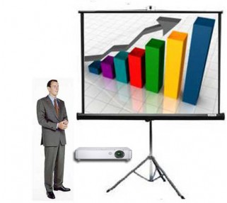 Portable Screen and Projector Rentals San Francisco