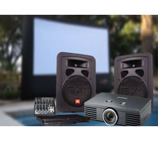 HD Movie Projection Equipment San Francisco Bay Area