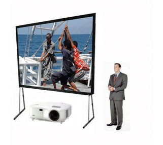 Large Projector and Screen Rentals San Francisco Bay Area