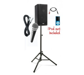 Small iPod PA System Rentals San Francisco Bay Area