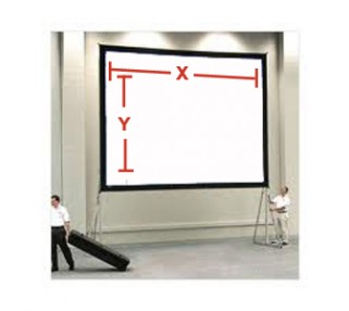 Very Large Projection Screen Rentals San Francisco & Los Angeles