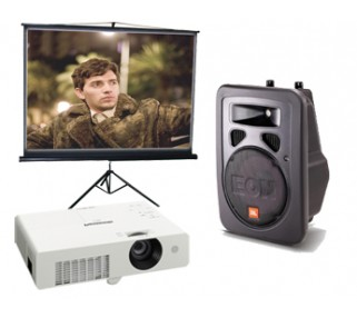 Movie NIght Equipment Rental San Francisco, San Jose, Walnut Creek