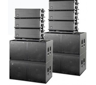 Medium Concert Line Array Speaker Package