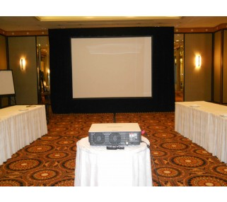 7x10 Projection Screen Amp Dress Kit Rentals San Francisco