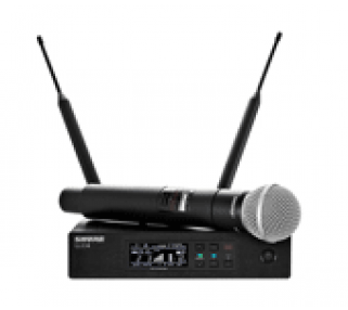 Shure QLX-D Pro Wireless Microphone Rental