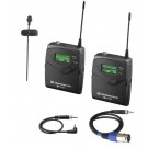 Sennheiser G2 Video Camera Lapel Microphone Rentals San Francisco Bay Area
