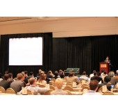 9x12 Fastfold Projection Screens and full Dress Kit at Conference