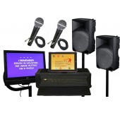 Large Karaoke Sound System Rental Los Angeles, San Francisco, San Jose