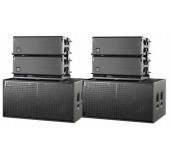 Small DAS Line Array Speaker Rental