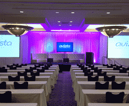 AV Production in a Ballroom