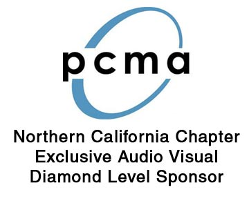 PCMA northern california chapter is an exclusive audio visual diamond level sponsor