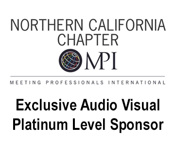 MPI northern california chapter is an exclusive audio visual platinum level sponsor