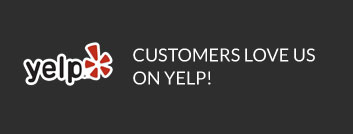 yelp logo and callout